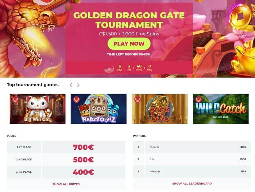 maneki casino tournaments