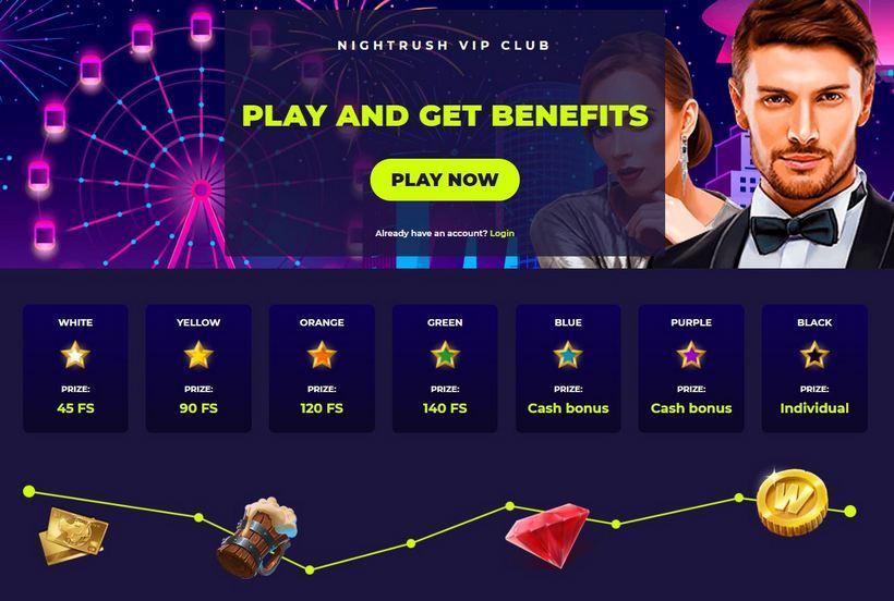nightrush vip casino