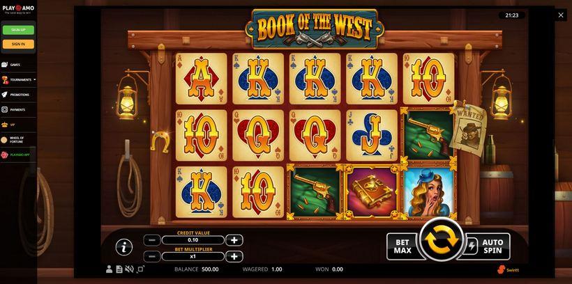 playamo slot gameplay